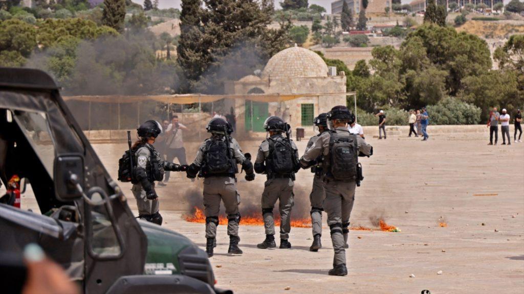 Quân đội Israel không kích nhóm khủng bố Hamas ở dải Gaza