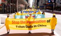 Cuộc diễu hành Pháp Luân Công ở Manhattan, New York thể hiện niềm hy vọng và ý chí kiên cường