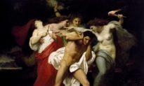"""Nỗi khổ của sự trả thù: """"Orestes bị ám bởi các Nữ Thần trả thù"""""""