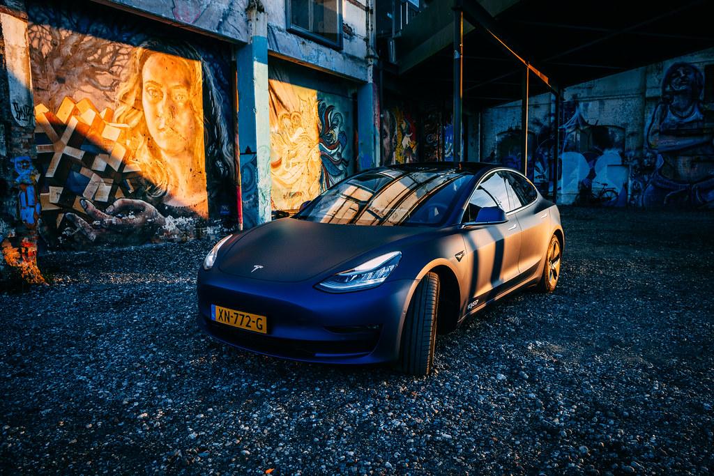 Model 3 của Tesla. (Ảnh: Flickr)