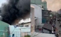 Cháy lớn nhà dân ở TP.HCM, 8 người tử vong