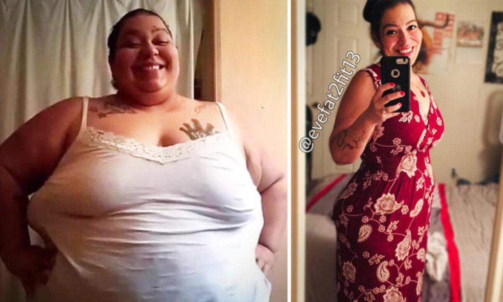 Người phụ nữ giảm gần 150 kg trong vòng 30 tháng
