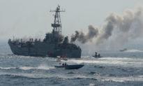 Hơn 12 tàu pháo của Iran bao vây 6 tàu chiến của Hoa Kỳ; Hoa Kỳ buộc phải nổ súng cảnh cáo