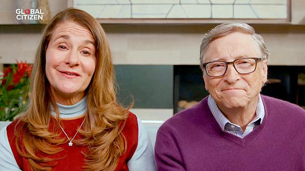 Vợ chồng Bill Gates vẫn xuất hiện cùng nhau chỉ nữa tháng trước khi ly hôn (Getty Images cho Global Citizen )