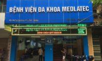 Cách ly Bệnh viện Medlatec cơ sở Nghĩa Dũng (Hà Nội)
