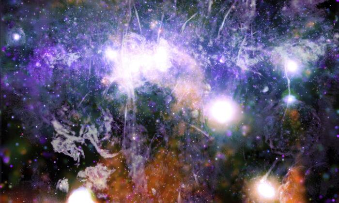 Hình ảnh chưa từng có về trung tâm hệ Ngân Hà tiết lộ một hiện tượng vũ trụ mới