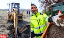 Muôn vàn cách phòng dịch bệnh: Ukraine đào sẵn mộ, Thuỵ Điển rải phân gà