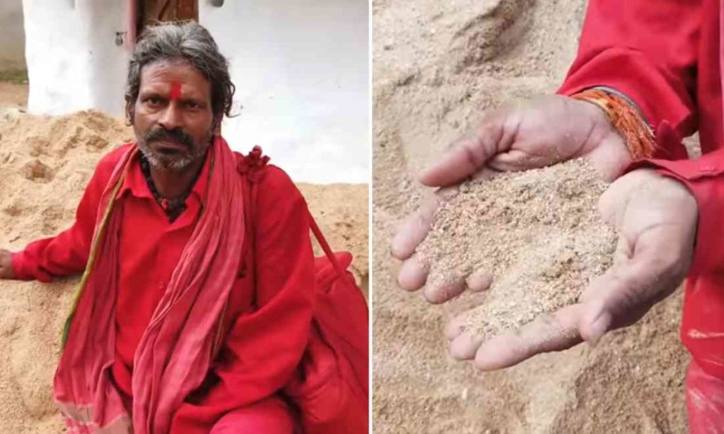 Kỳ lạ người đàn ông Ấn Độ ăn 1kg đất mỗi ngày trong hơn 20 năm