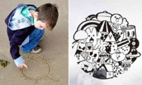 Từ bị mắng vì vẽ bậy trong lớp, cậu bé trở thành 'hoạ sĩ' vẽ tranh tường nhà hàng