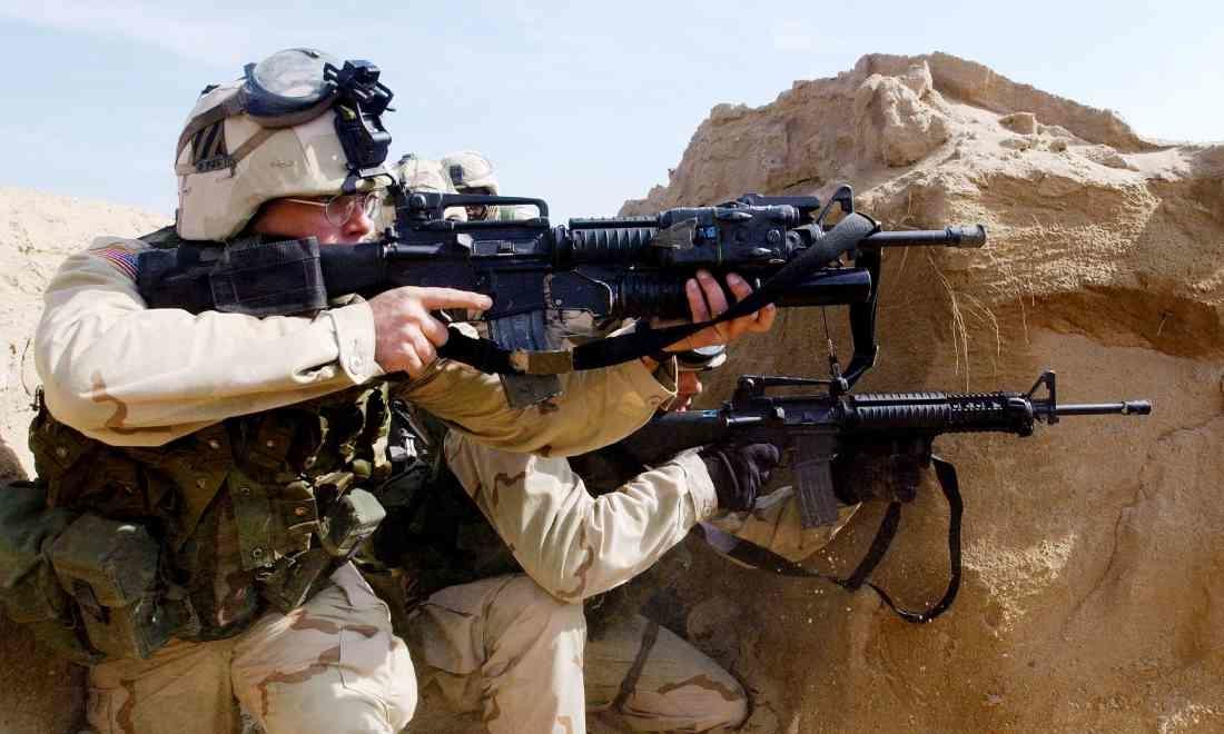 Phóng viên theo chân lính Mỹ ra chiến trường: Quân đội Trung Quốc không phải là đối thủ