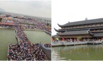 Hà Nam: Hàng ngàn người phải xét nghiệm khi chùa Tam Chúc xuất hiện 1 ca dương tính nCoV.