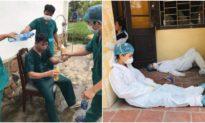 Các y bác sĩ kiệt sức nhưng vẫn đầy nhiệt huyết giữa dịch Covid-19