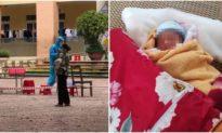 Em bé mới 3 ngày tuổi ở Bắc Giang phải cách ly một mình vì mẹ là F0