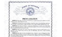 Thượng nghị sĩ bang Nevada, Mỹ khen ngợi Ngày Pháp Luân Đại Pháp Thế giới 13/5