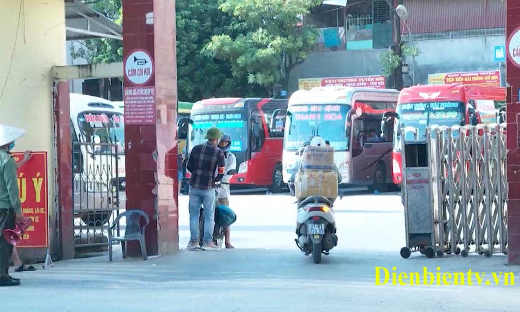 Điện Biên dừng toàn bộ hoạt động vận tải hành khách liên tỉnh