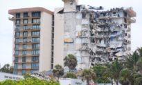 Sập một phần toà nhà ở Florida, ít nhất 1 người chết, gần 100 người mất tích