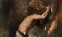 Sức nặng của sự ham mê qua bức họa về 'Sisyphus'