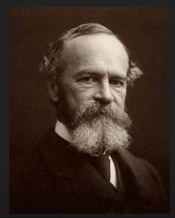 nhà triết học kiêm tâm lý học William James