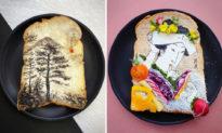 Bữa sáng 'cầu kỳ nhất thế giới': Bánh mì nướng được 'hô biến' thành những tác phẩm nghệ thuật tuyệt vời