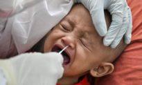 Malaysia có hơn 82.000 trẻ em nhiễm dịch Covid-19