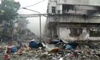 Vụ nổ khí gas ở Trung Quốc: Số người chết tăng lên 25 người