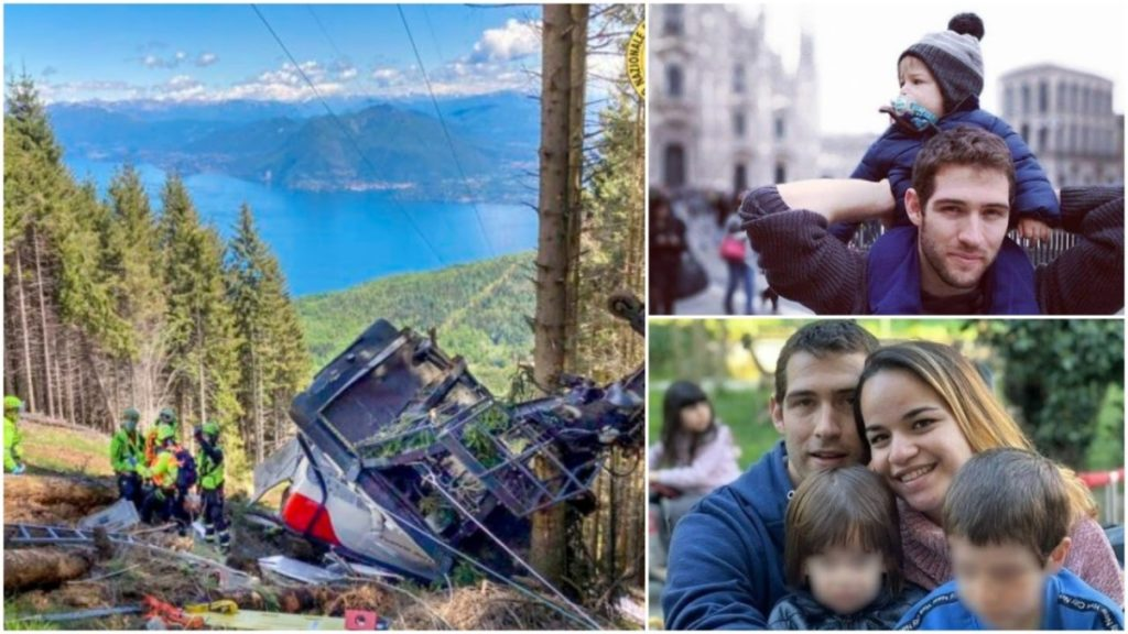 Tai nạn cáp treo kinh hoàng ở Ý, cậu bé duy nhất sống sót nhờ cánh tay bảo vệ của người cha