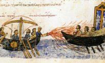 Bí ẩn: Lửa ma thuật của người Hy Lạp thiêu rụi 2.500 chiến thuyền Ả-rập [Radio]