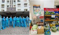 'Tình làng nghĩa xóm' ở khu phong toả Sài Gòn: Lập đội vận chuyển, hỗ trợ nhau 'từ bịch gạo đến mớ rau'