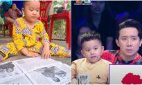Kỳ lạ: Bé trai 3 tuổi biết đọc tiếng Việt và Anh lưu loát