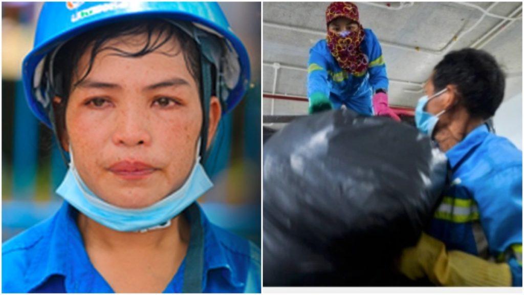 Đời đắng cay công nhân thu gom rác bị nợ lương 6 tháng, và câu chuyện cổ tích đến từ trái tim