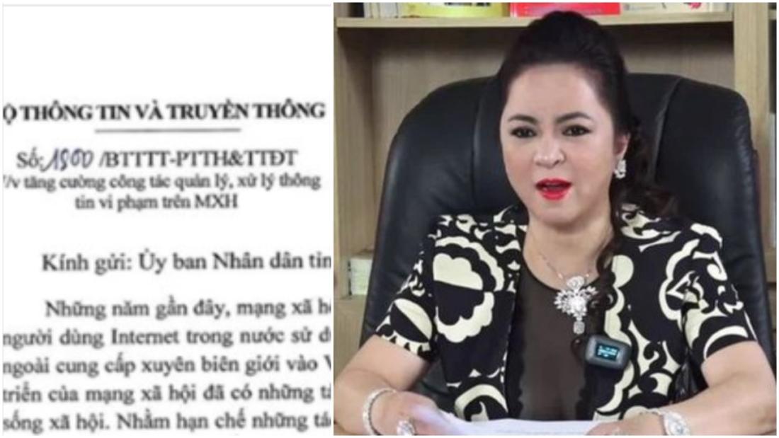 Bị Sở TT&TT Bình Dương mời làm việc, bà Phương Hằng cam kết cẩn trọng hơn trong phát ngôn