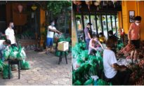 'Vải miễn phí, hãy lấy một túi nếu cần' - Nhóm thiện nguyện mua và tặng vải miễn phí để ủng hộ nông dân Bắc Giang