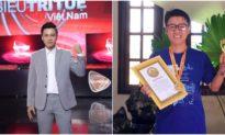 Kỷ lục gia Dương Anh Vũ: Hành trình từ 'siêu dốt' 8 năm thi lại thành tài năng 'Siêu trí tuệ'