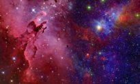 Một số lượng lớn các ngôi sao mới cùng xuất hiện trong hàng chục thiên hà xa xôi