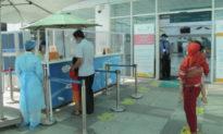 TP.HCM: Người bán nước trước cổng Bệnh viện Nhi đồng 1 đi khám phát hiện nhiễm COVID-19