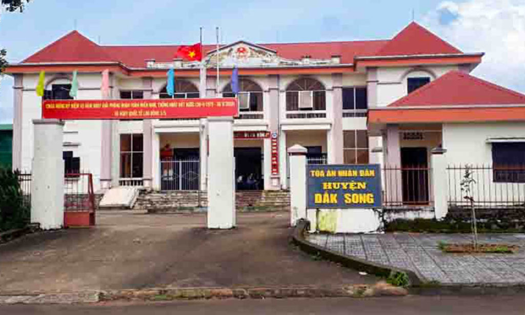 Chánh án TAND tỉnh Đắk Nông thông tin vụ tòa án huyện lập 57 hồ sơ khống
