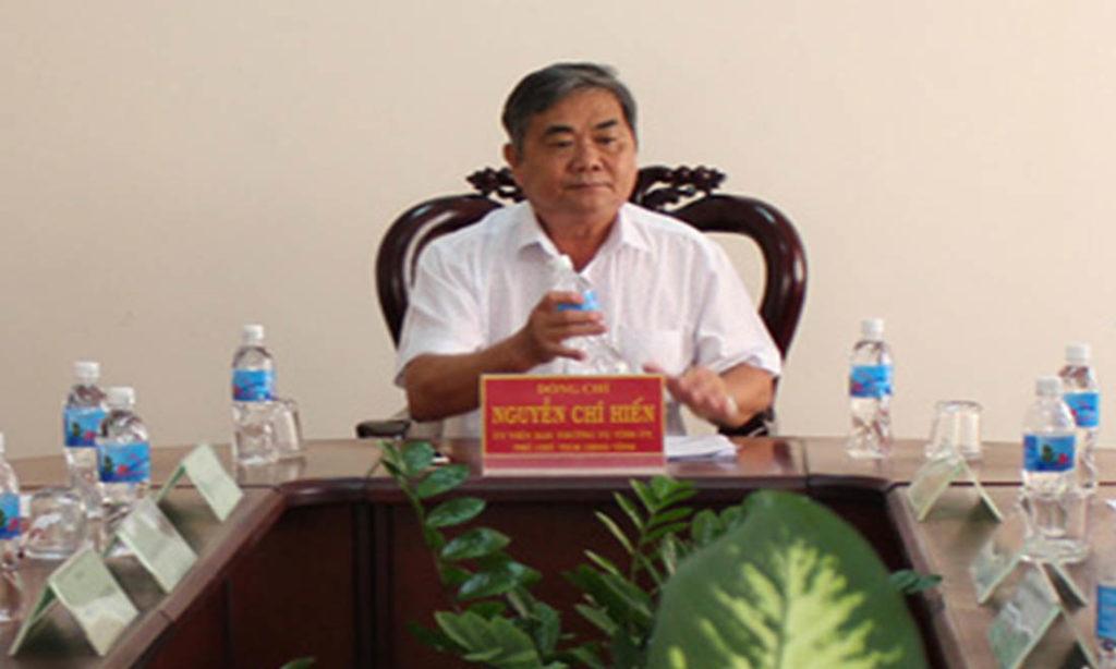 Khởi tố, bắt tạm giam nguyên Phó chủ tịch tỉnh Phú Yên