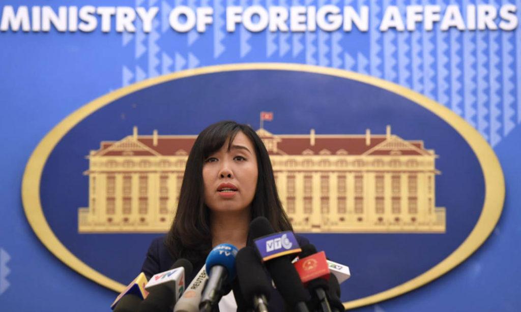 Việt Nam lên tiếng việc Trung Quốc kéo giàn khoan lớn nhất thế giới ra Biển Đông