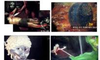 Nữ họa sĩ du hành xuyên địa ngục, vẽ lại cảnh tượng kinh dị cảnh báo thế giới