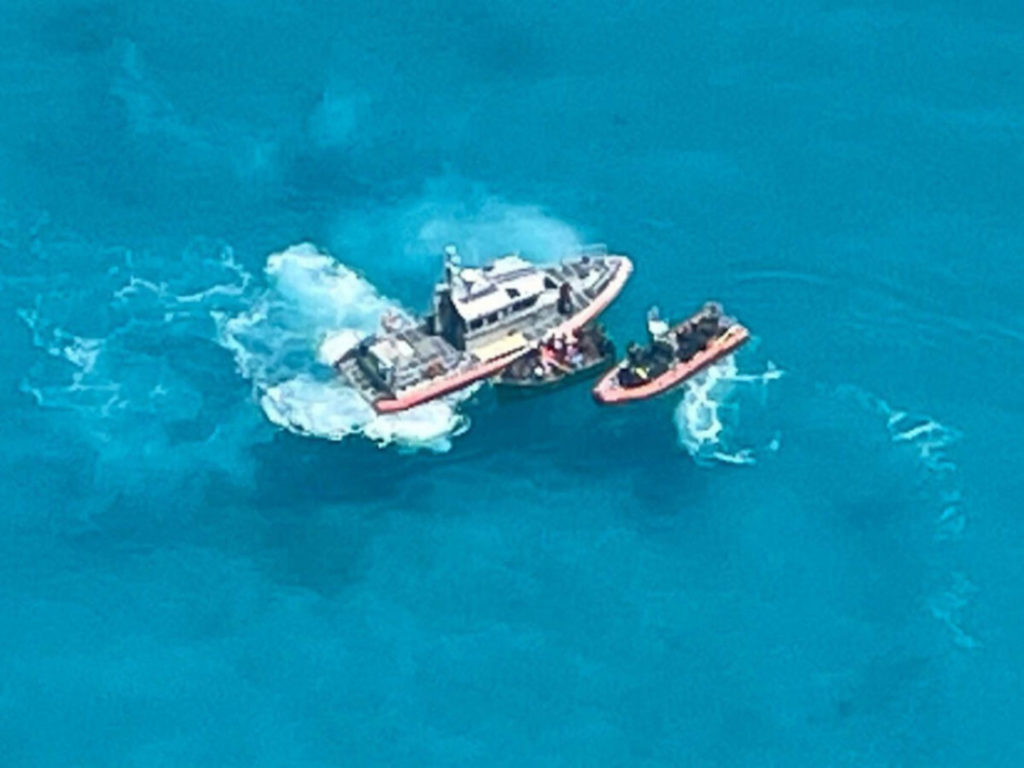 Tìm thấy 27 người Cuba trên biển, Cảnh sát biển Mỹ trao trả lại cho quốc đảo