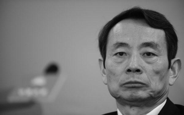 Jiang Jiemin, cựu giám đốc Ủy ban Giám sát và Quản lý Tài sản Nhà nước, tại Hồng Kông vào ngày 25 tháng 3 năm 2010. (Mike Clarke / AFP / Getty Images)