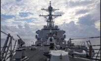Bắc Kinh chỉ trích hoạt động tự do hàng hải của Tàu khu trục Mỹ ở gần quần đảo Hoàng Sa
