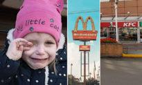 Nghe tin McDonald's, KFC đóng cửa vì dịch Covid và chỉ được 'ăn cơm mẹ nấu', bé gái 'đau khổ khóc thảm thiết'