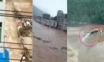TQ: Lũ lụt nghiêm trọng ở Tứ Xuyên, 210.000 người bị ảnh hưởng