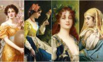 Nét bút tài hoa của Conrad Kiesel thế kỷ 19: Những mỹ nữsống động như thật