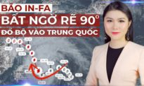 TỐI 26/7: Lũ lụt chưa qua, Trung Quốc tiếp tục hứng BÃO IN-FA và nguy cơ THẢM HỌA HẠT NHÂN
