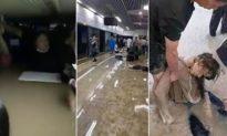 Mưa lớn làm ngập toa tàu điện ngầm của thủ phủ Hà Nam (Trung Quốc) khiến nhiều người thiệt mạng