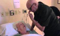 Khoảnh khắc tuyệt vời: Tiếng hát và tình yêu của cụ ông giúp hồi sinh người vợ 93 tuổi
