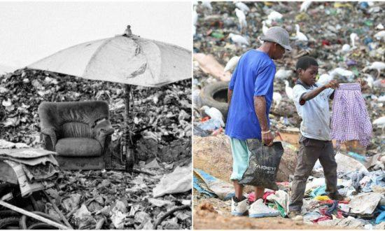 Không giống với những đứa trẻ bình thường, những đứa trẻ mưu sinh trên bãi rác kiếm tìm nguồn sống cho mình và gia đình trên những thứ bị người ta vứt lại (Ảnh: tổng hợp)
