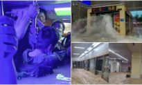 'Con có lẽ không về được': Khoảnh khắc kinh hoàng trong tàu điện ngầm bị ngập bởi trận lũ lớn nhất Trung Quốc